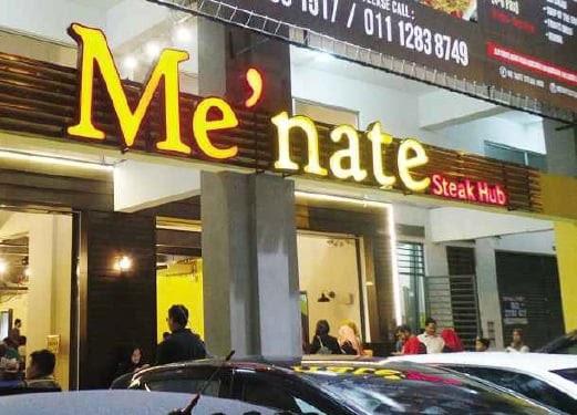 Pulang Dengan Hampa Dari Restoran Me'nate!