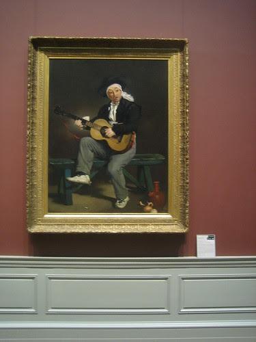 The Spanish Singer , 1860, Édouard Manet  _8405