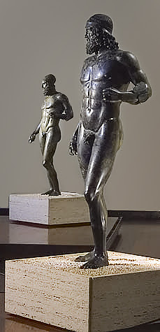 The Riace Bronzes, National Museum of Magna Gr...