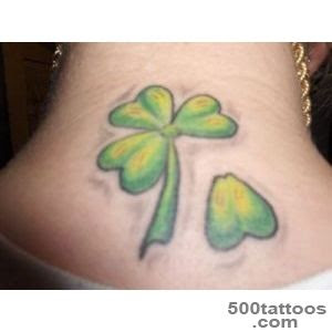 Clover Tattoo Designs Ideas Meanings Images