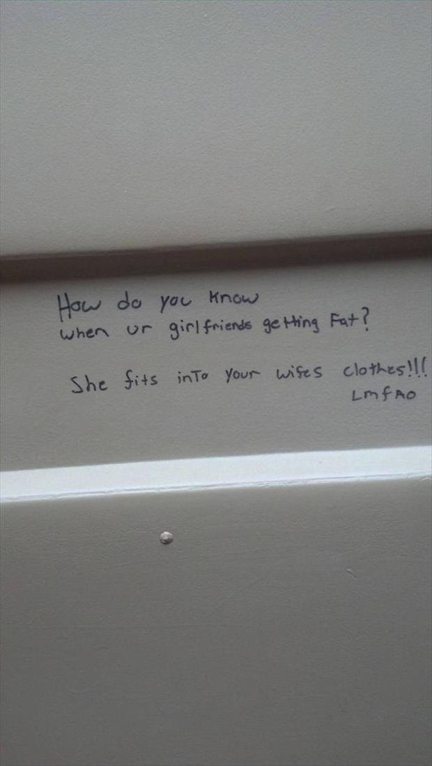 Stall Wall Wisdom At Its Finest 28 Pics