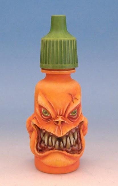 Retour - Monstropot peint par Audrey Boussioux alias Shamandalie