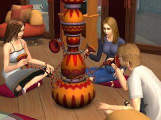 Mi, Rory, et Paris en The Sims