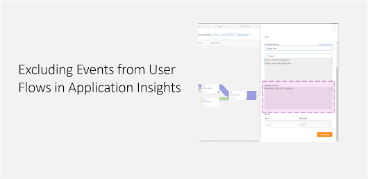 Excluding Events from User Flows in Application Insights - Daily .NET Tips