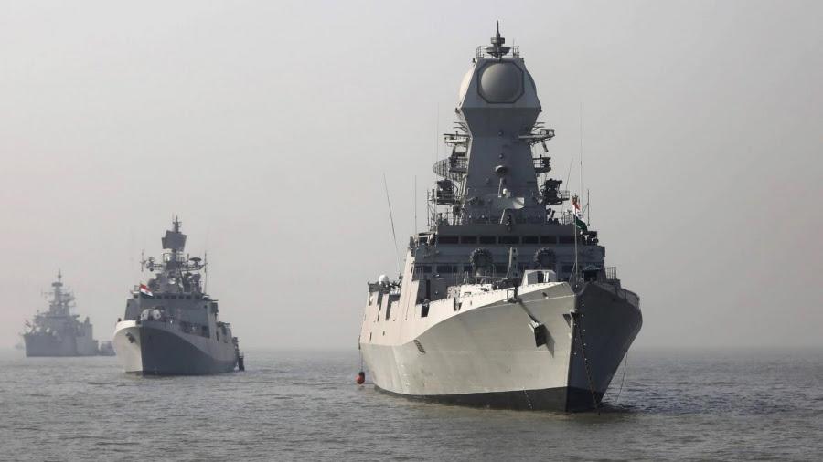 Η ναυτική άσκηση της Ινδίας TROPEX 2019 ήταν μήνυμα προς την Κίναι και όχι στο Πακιστάν