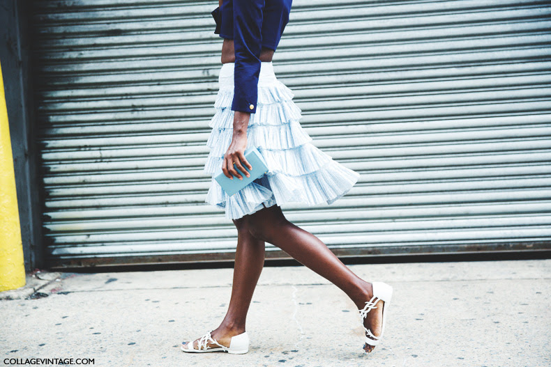 New_York_Fashion_Week_Spring_Summer_15-NYFW-Street_Style-Ruffle_Skirt-1