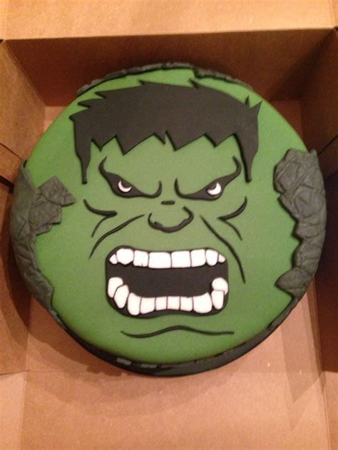 Hulk Pattern Cake Ideas and Designs
