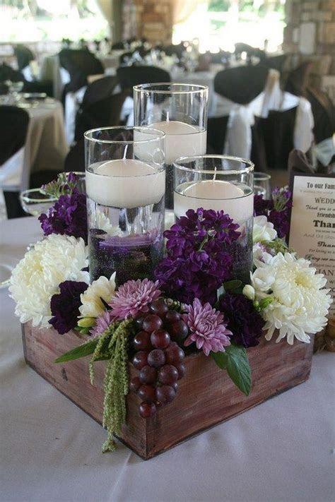 Best 20  Plum wedding centerpieces ideas on Pinterest