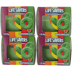 Life Savers Scented Candle 4 Pack of 3 oz Jars - Watermelon