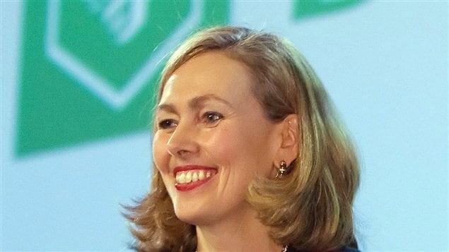 La présidente et chef de la direction du Mouvement Desjardins, Monique Leroux