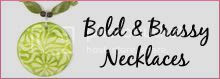 Bold and Brassy Handmade Necklaces at Sharma Designs