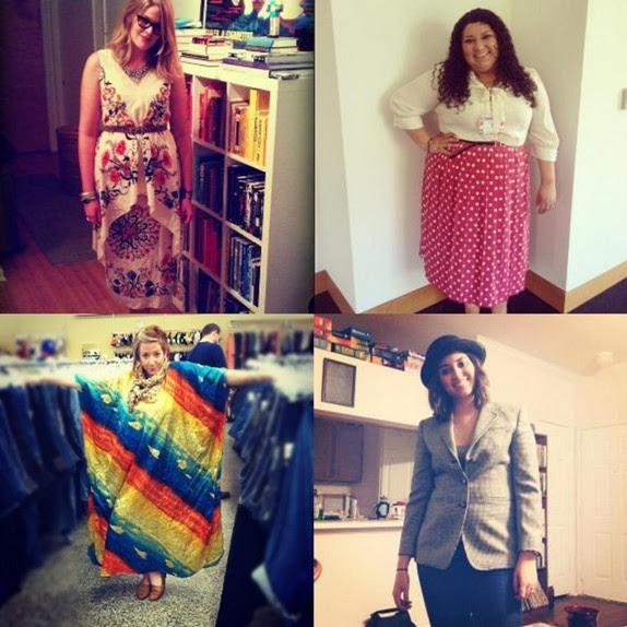 thrift collage