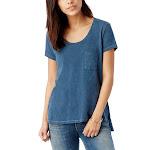 Alternative Women's Washed Slub Favorite Pocket T-Shirt-MINERAL BLUE-M