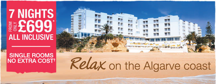 Relax on the Algarve coast