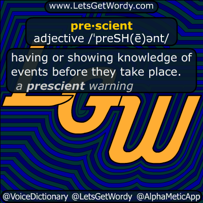 prescient 10/01/2016 GFX Definition