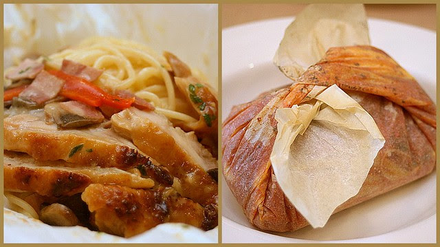 The parchment pasta introduced last year is back!