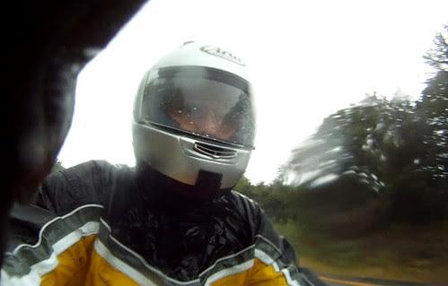 wet morning ride