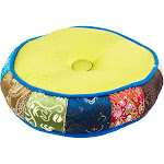 Singing Bowl Cushion 6 - inch Thick Assorted Colors (Each) from Magick Planet