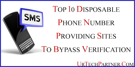 Indian or USA Disposable Phone Numbers for Bypass OTP Verification
