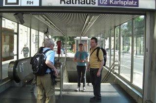 Creating a User POI at a Vienna Subway Stop