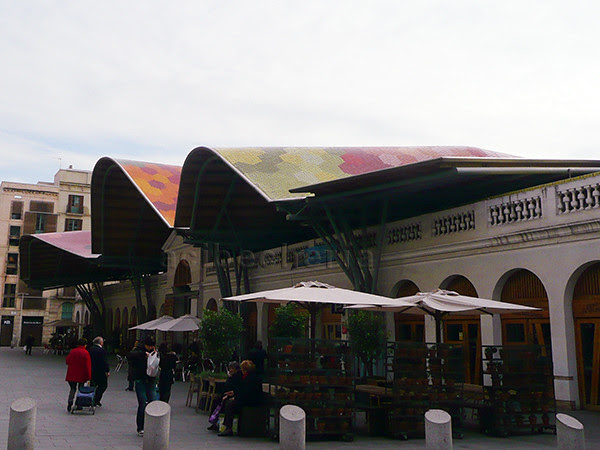 mercado santa Catalina