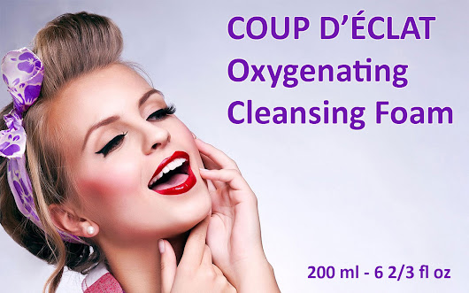 COUP D'ÉCLAT Oxygenating Cleansing Foam