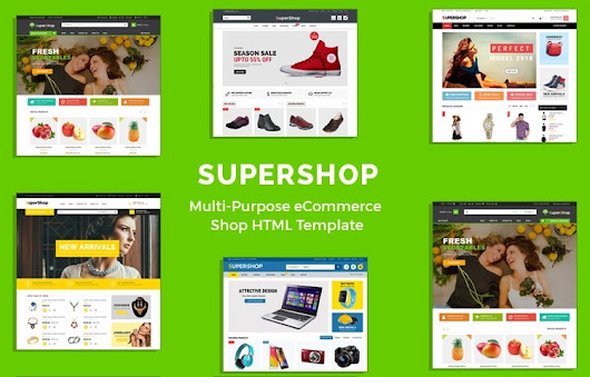 SuperShop – Responsive Multipurpose E-Commerce HTML Template