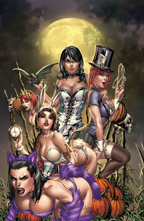 sexy female version of Alice in Wonderland - Grimm Halloween by `ToolKitten on deviantART