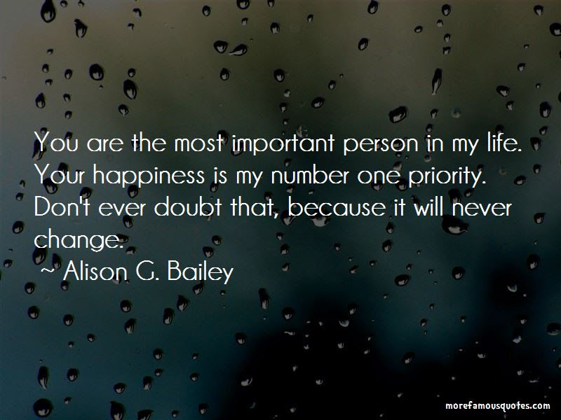 Quotes About Important Person In My Life Top 43 Important Person In