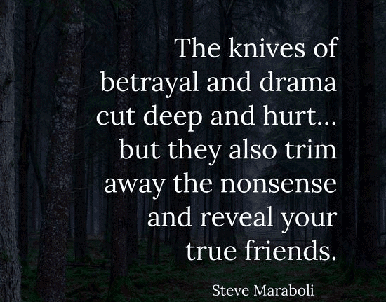 Top 50 Betrayal Quotes With Images