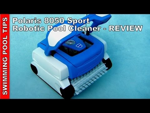 Swimming Pool Tips Reviews Polaris 8050 Sport Robotic Pool Cleaner
