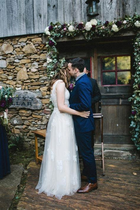 Jewel Tone North Carolina Mountain Wedding at The
