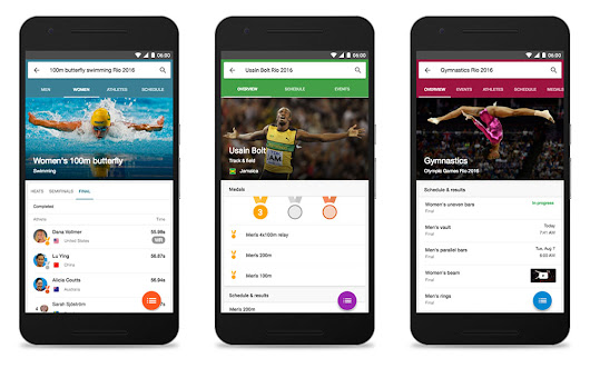 Google Wants You to Know That It has All of Your Rio Olympics 2016 Coverage | Droid Life