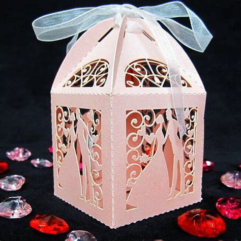 NEW Luxury Wedding Sweets Favour Boxes Wedding Favours