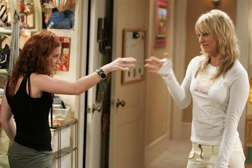 Amy Davidson with Kaley Cuoco - 8 Simple Rules