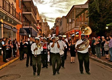 Kinfolk Brass Band for Second Line in New Orleans. Must