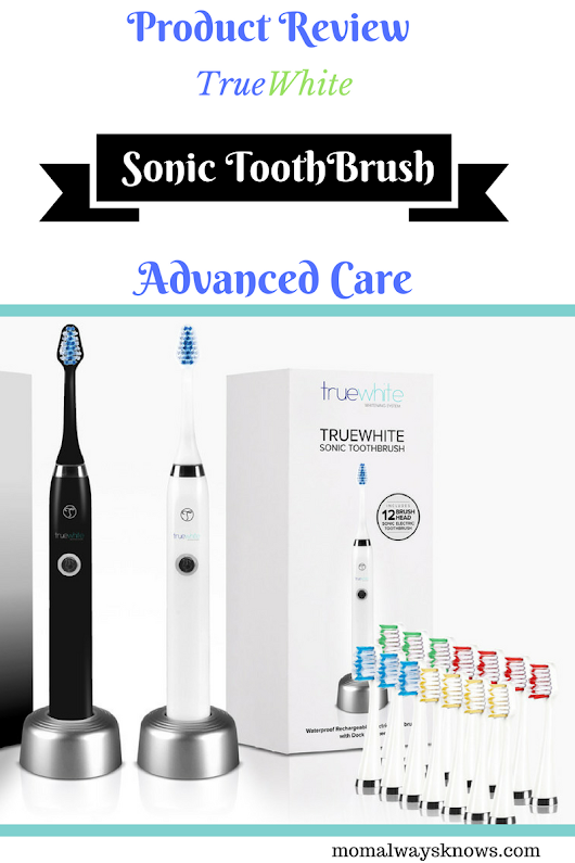 Product Review- Truewhite Advanced Care Sonic Toothbrush with 14 Brush heads