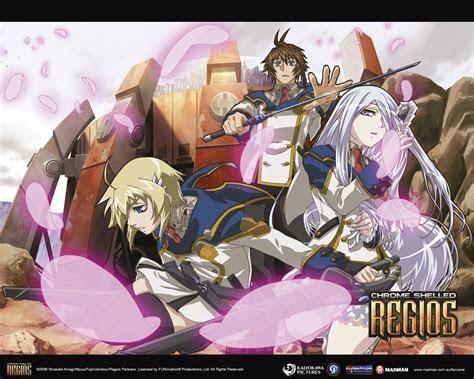 Anime Wallpapers   Chrome Shelled Regios   Madman
