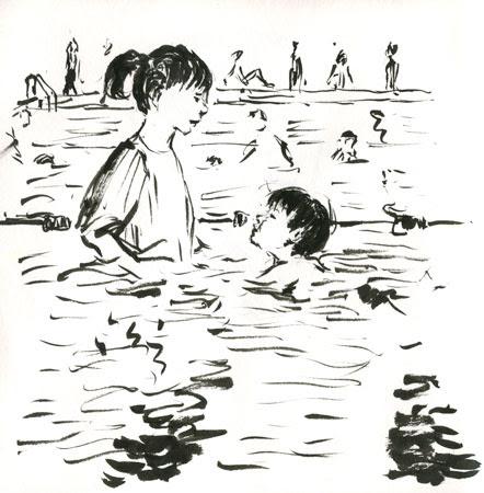 xavierswimming