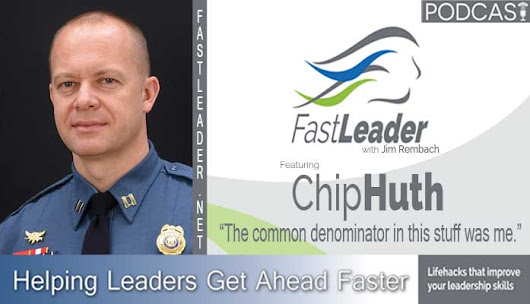 Chip Huth tried to use a new communications strategy, which he just learned, on his son. Listen how Chip got over the hump when they failed. #leadership