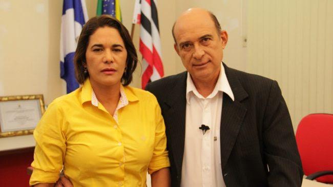 Luana Alves e o marido Ribamar Alves