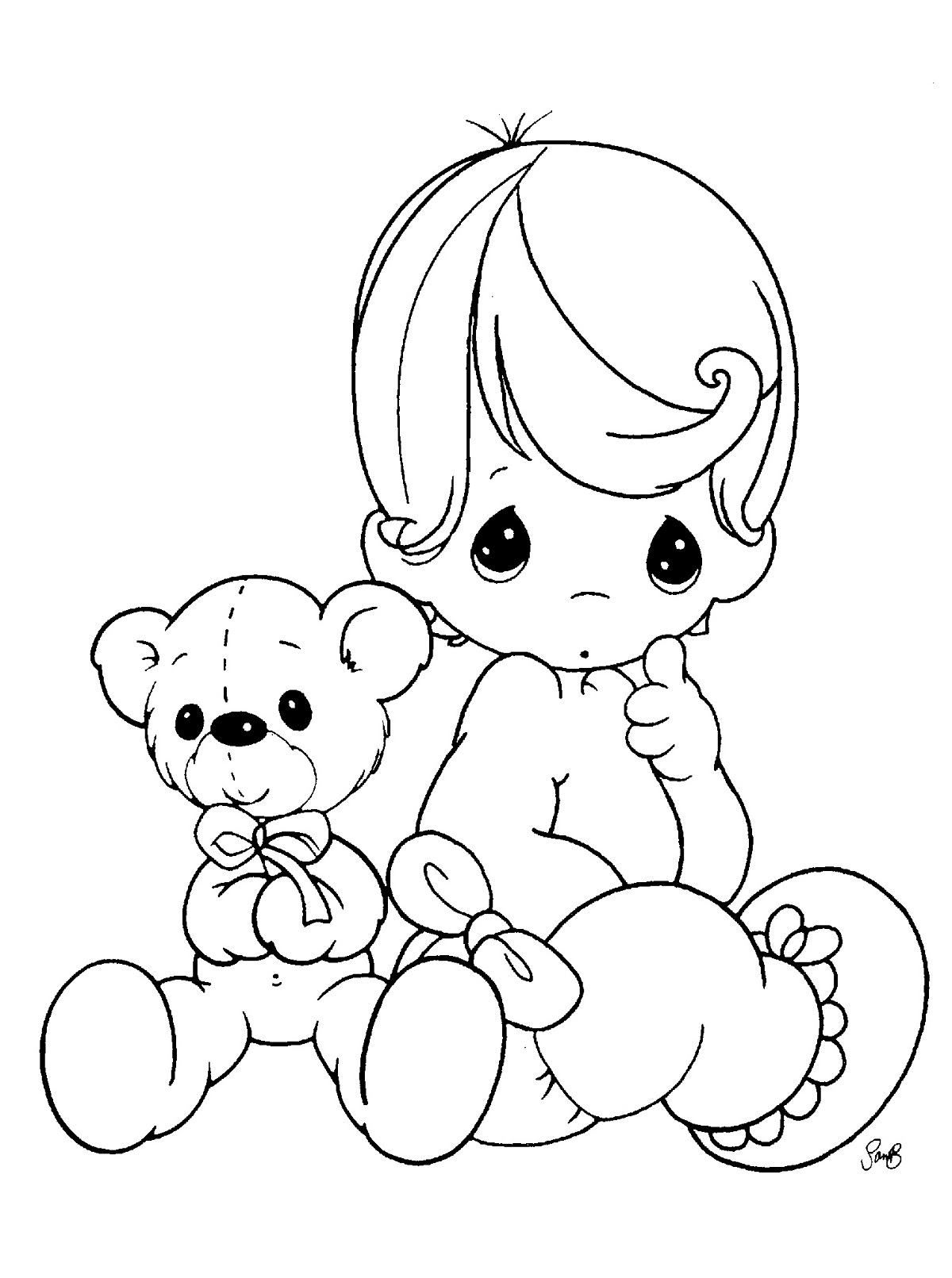 Baby Boy Drawing At Getdrawingscom Free For Personal Use Baby Boy