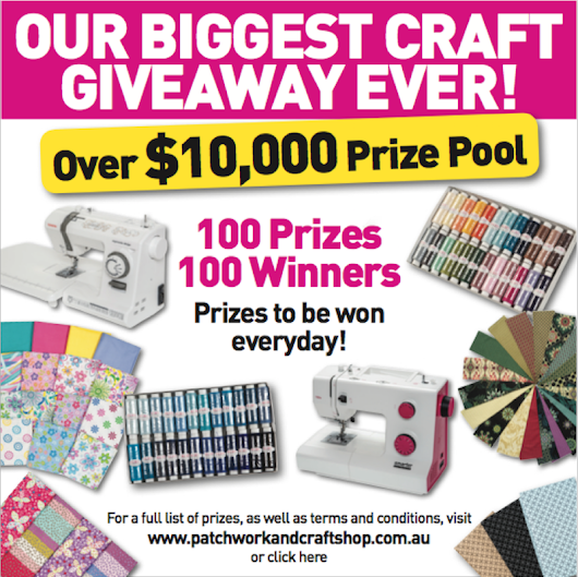 MEGA CRAFT PRIZE - OVER $10,000 IN PRIZES!