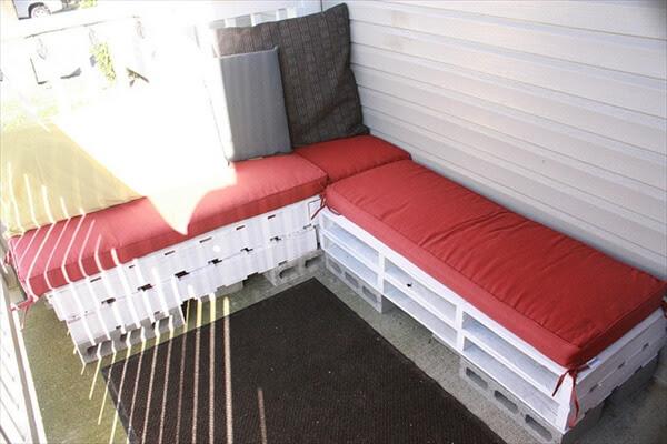 Pallet Patio Furniture – Easy Making Of Pallet Furniture | 101 Pallets