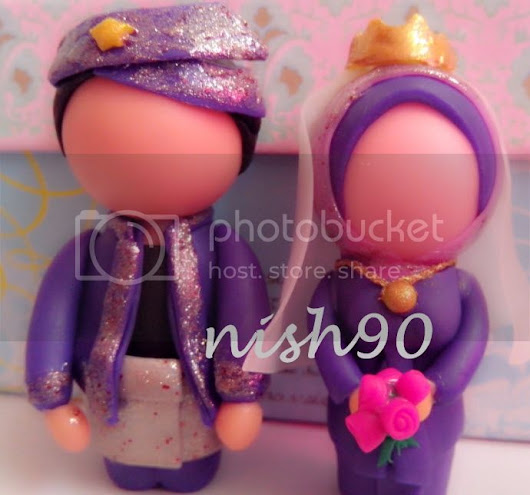 Me and My LittLe Space in This BiG BiG WorLd: PENGANTIN dari POLYMER CLAY