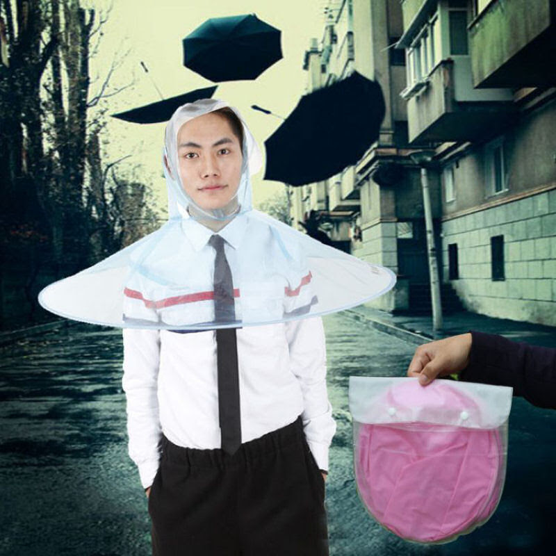 Esta capa-guarda-chuva chinesa é a mais recente inovação para se manter enxuto 03