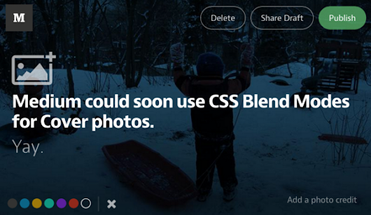 CSS Blend Modes could be the next big thing in Web Design
