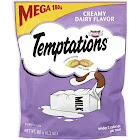 Temptations Whiskas Treat for Cats, Creamy Dairy Flavor - 6.3 oz