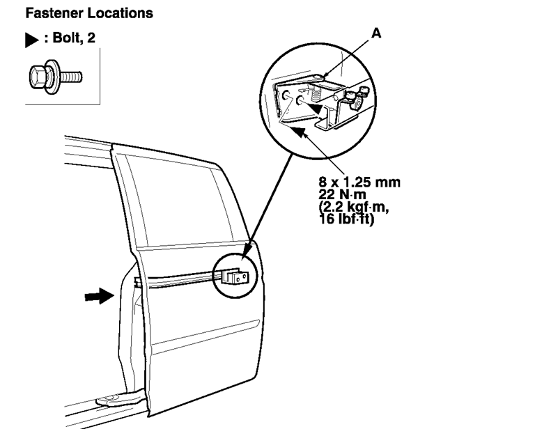 Sliding Door Parts Honda Odyssey Sliding Door Parts Diagram
