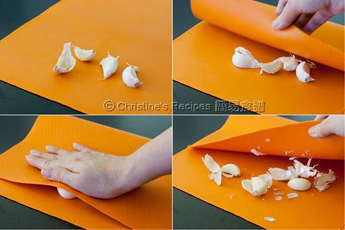剝蒜頭衣 How To Peel Garlic03
